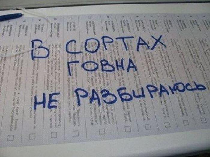Творчі доробки виборців: українці голосували за Висоцького та Путіна (ФОТО), фото-6