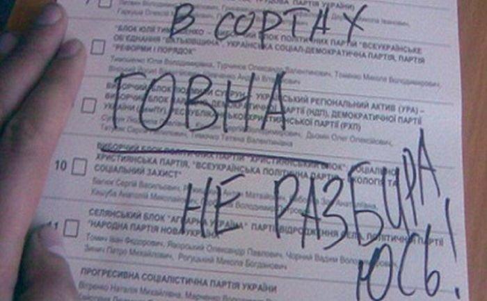 Творчі доробки виборців: українці голосували за Висоцького та Путіна (ФОТО), фото-12