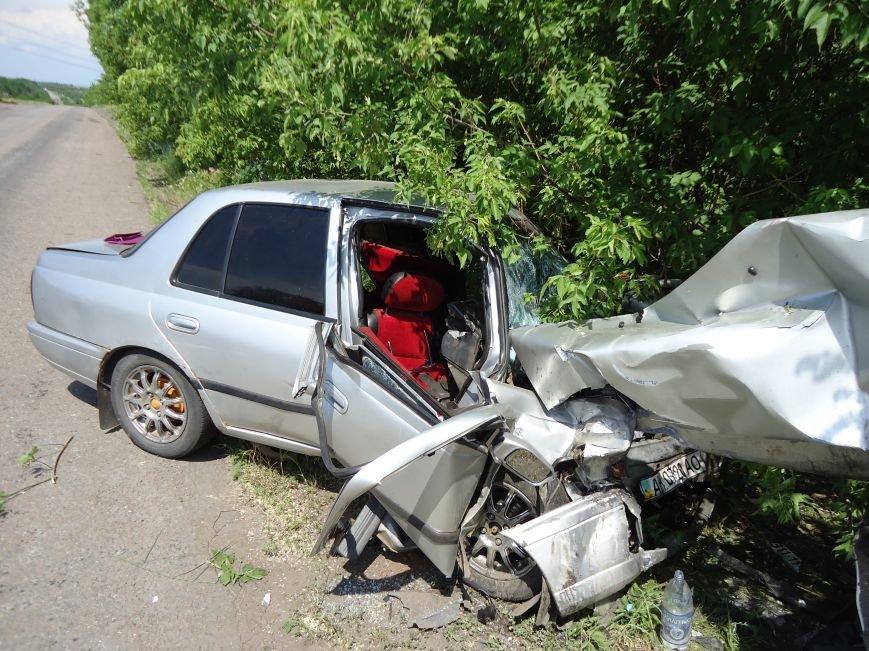 На артемовской трассе в ДТП пострадали пять взрослых и годовалый ребенок(ФОТО), фото-1