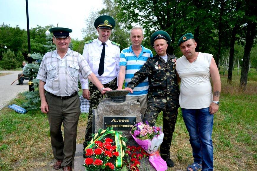 В Мариуполе пограничники увековечили «Зеленую фуражку» (ФОТО), фото-1