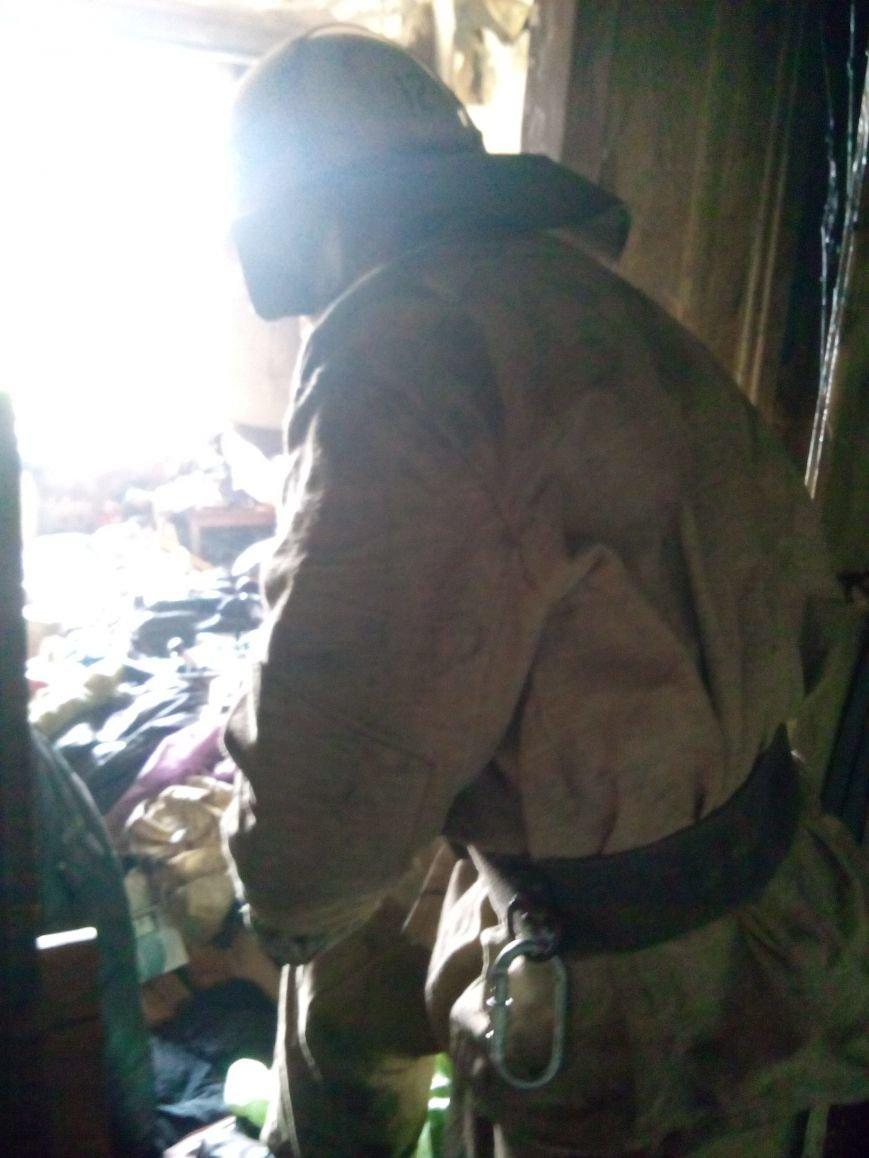 Криворожские пожарные спасли из огня 54-летнюю женщину (ФОТО), фото-2