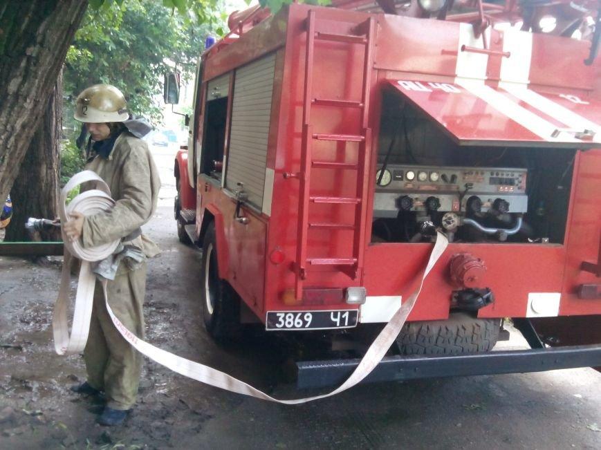 Криворожские пожарные спасли из огня 54-летнюю женщину (ФОТО), фото-1