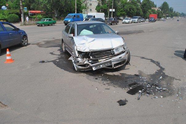 В Кривом Роге при столкновении двух иномарок пострадал один человек (ФОТО), фото-3