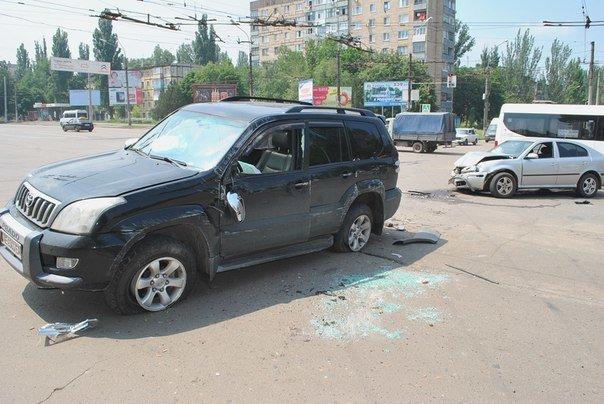 В Кривом Роге при столкновении двух иномарок пострадал один человек (ФОТО), фото-6