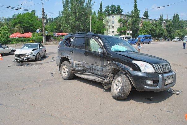 В Кривом Роге при столкновении двух иномарок пострадал один человек (ФОТО), фото-7