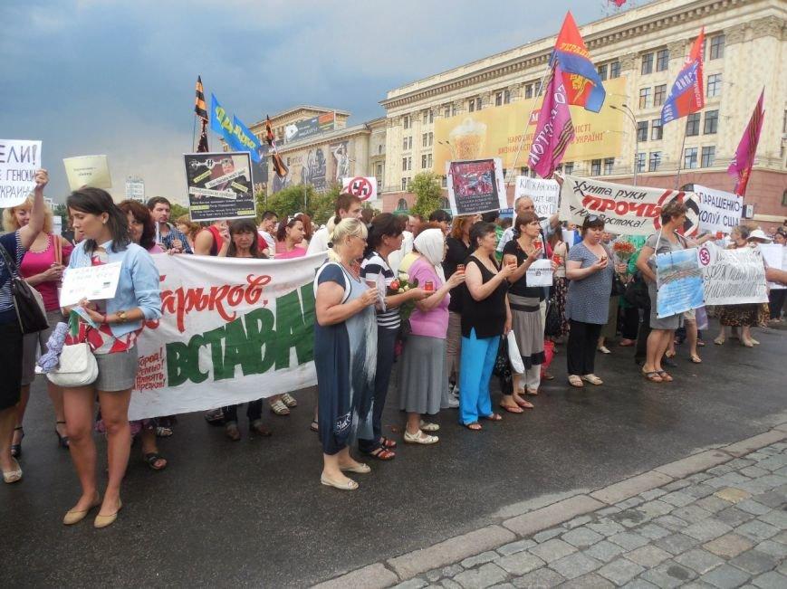 Пикет у обладминистрации: харьковчане вышли с протестом против АТО, фото-2