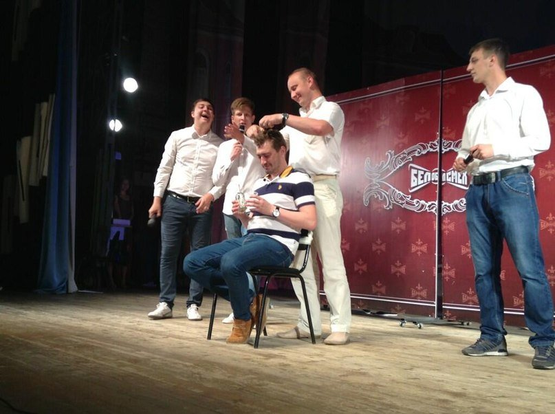 БелОблСмех: «Сборная ЖБК-1» выиграла второй четвертьфинал областной лиги КВН, фото-1