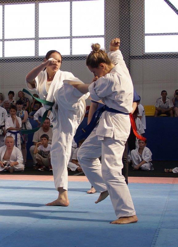 Чемпионат по киокусинкай в  Таганроге — достойно встретили гостей и победили в честном бою, фото-4
