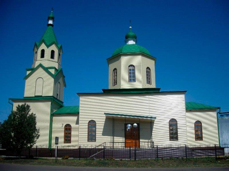 В Белгородской области загорелась церковь, фото-1