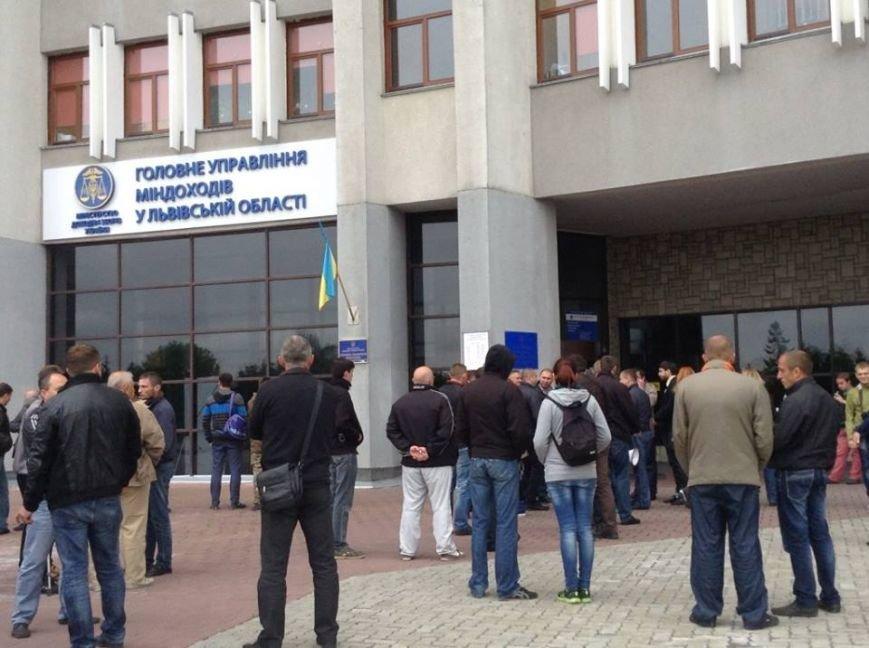 Через смерть жінки у Львові активісти повстали проти податкової (ФОТО ), фото-2