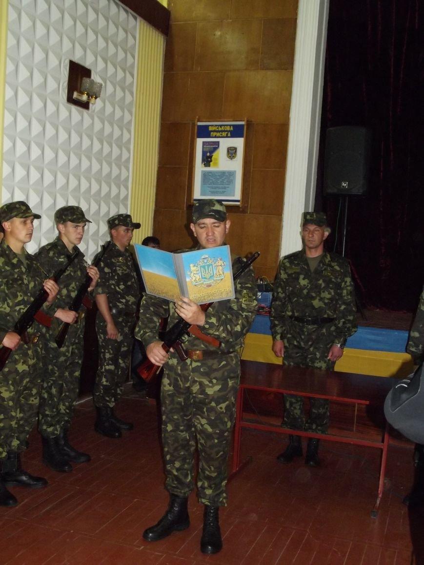 Військовослужбовці батальйону «Тернопіль» склали присягу на вірність укранському народу (фото), фото-1