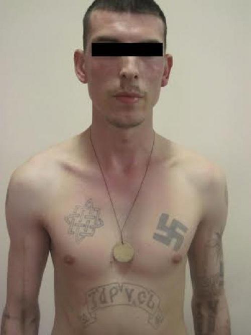 На Луганщину ехал российский неонацист (ФОТО), фото-2