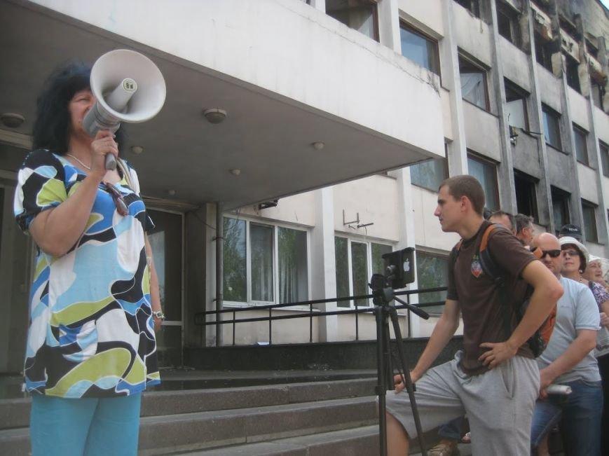 В Мариуполе митинговали за отставку Юрия Хотлубея (ФОТОРЕПОРТАЖ), фото-7