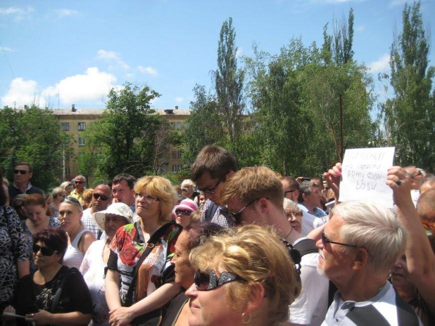 В Мариуполе митинговали за отставку Юрия Хотлубея (ФОТОРЕПОРТАЖ), фото-8