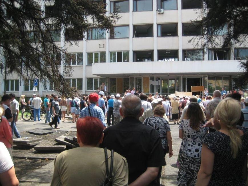 В Мариуполе митинговали за отставку Юрия Хотлубея (ФОТОРЕПОРТАЖ), фото-6