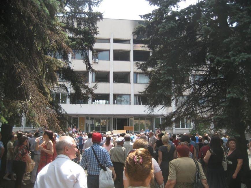 В Мариуполе митинговали за отставку Юрия Хотлубея (ФОТОРЕПОРТАЖ), фото-5