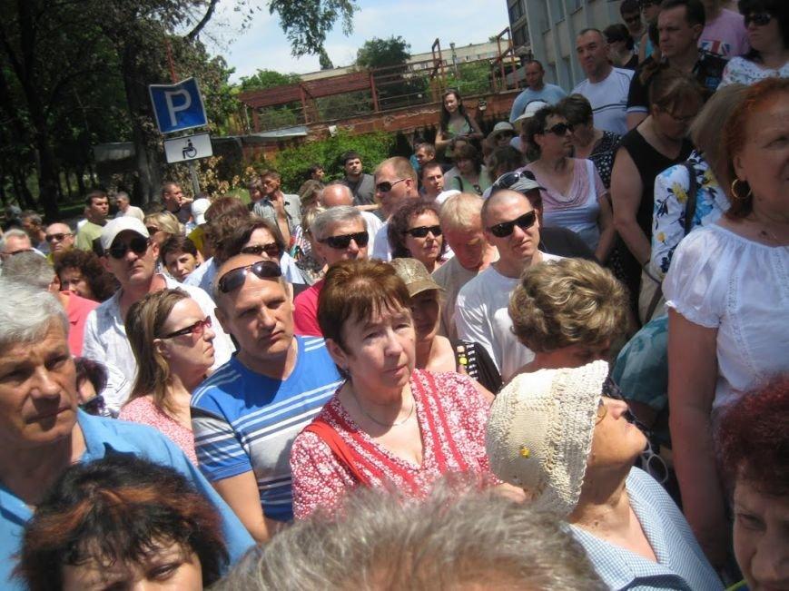В Мариуполе митинговали за отставку Юрия Хотлубея (ФОТОРЕПОРТАЖ), фото-10