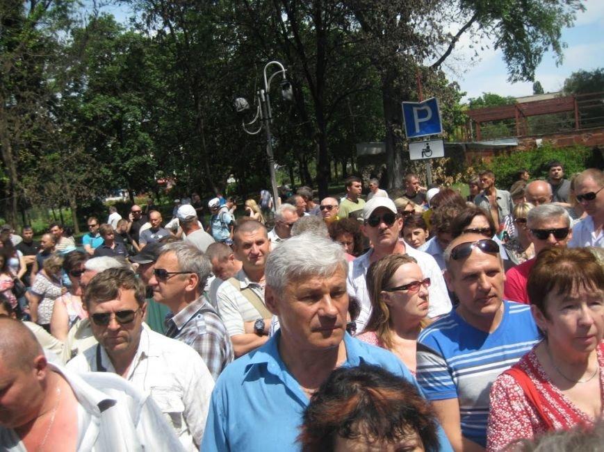 В Мариуполе митинговали за отставку Юрия Хотлубея (ФОТОРЕПОРТАЖ), фото-9