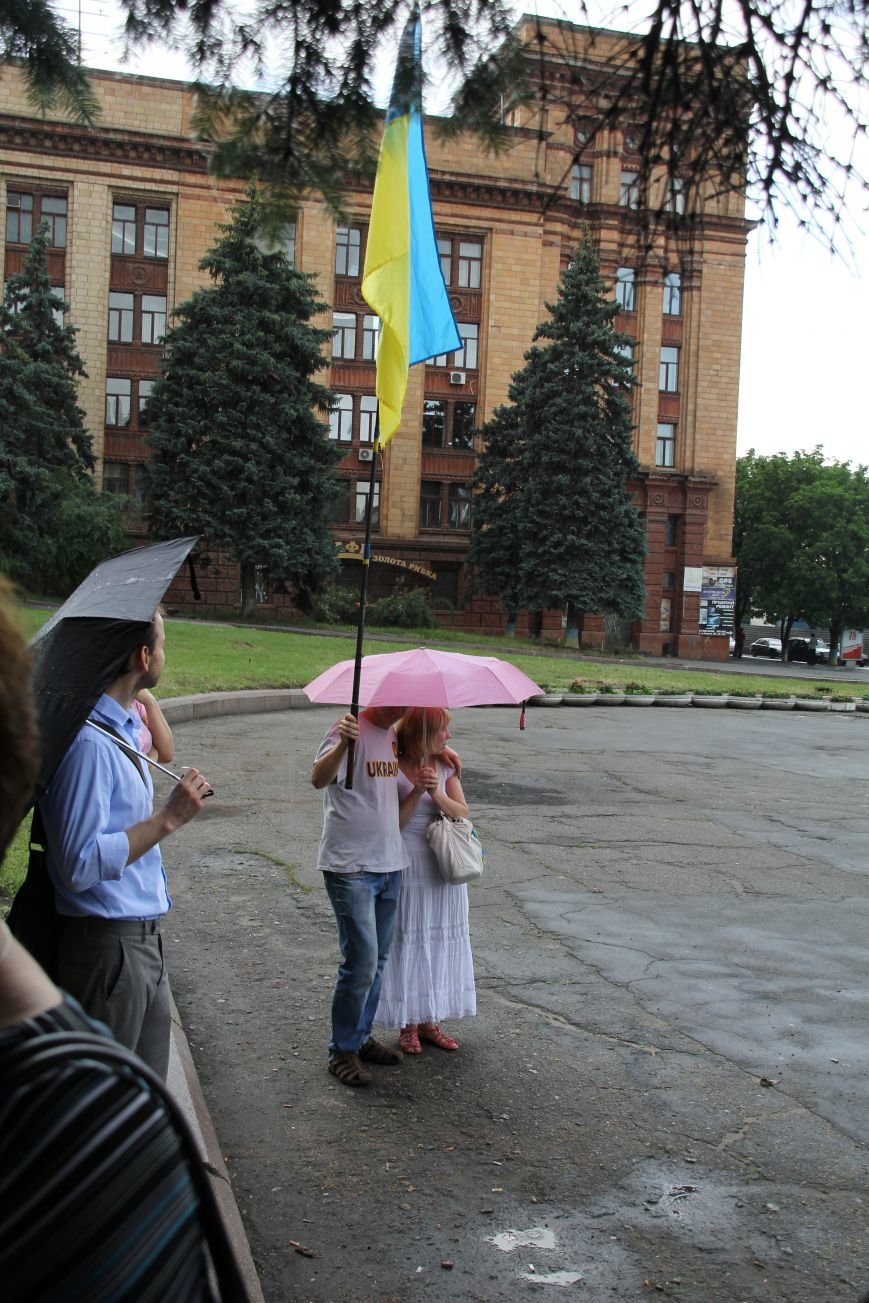 В Днепропетровске прошел флешмоб «Украина - это мы» (ФОТОРЕПОРТАЖ), фото-7
