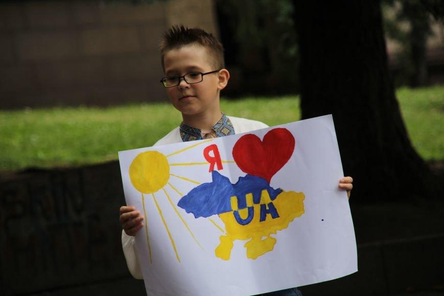 В Днепропетровске прошел флешмоб «Украина - это мы» (ФОТОРЕПОРТАЖ), фото-3