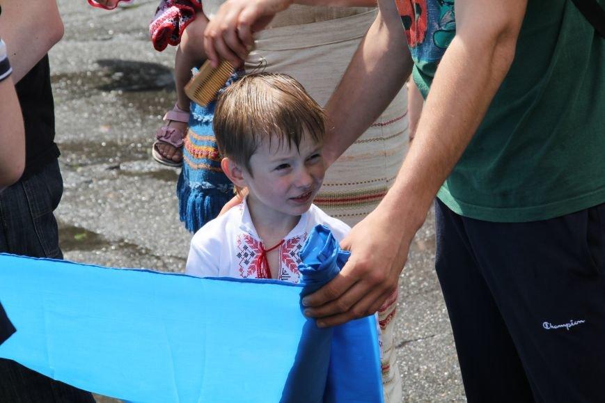 В Днепропетровске прошел флешмоб «Украина - это мы» (ФОТОРЕПОРТАЖ), фото-9