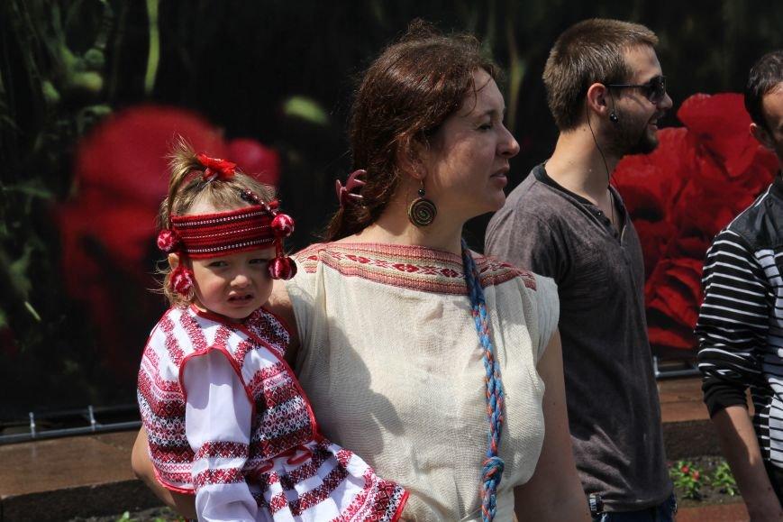 В Днепропетровске прошел флешмоб «Украина - это мы» (ФОТОРЕПОРТАЖ), фото-2