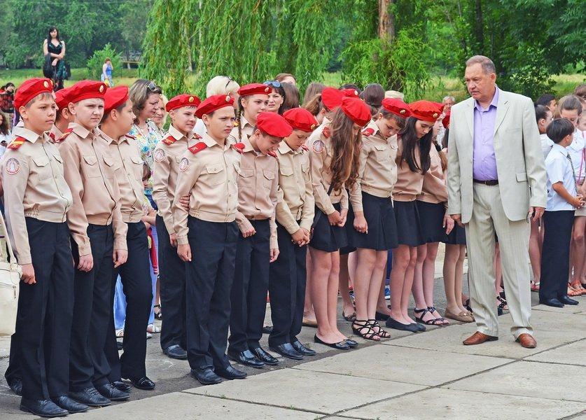 В луганской мэрии рассказали, как прошел последний звонок (ФОТО), фото-19