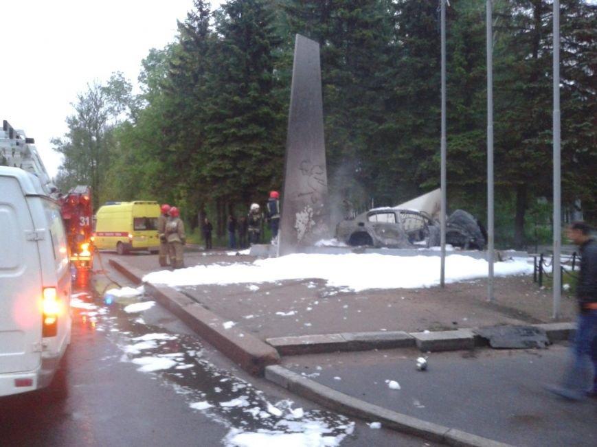 ДТП, авария, 2 июня, город Пушкин, Колпинское шоссе
