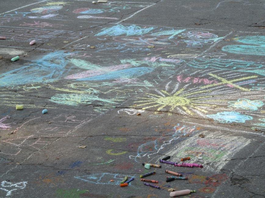 Конкурс детского рисунка на асфальте в рамках акции «Нет курению» (ФОТО), фото-6