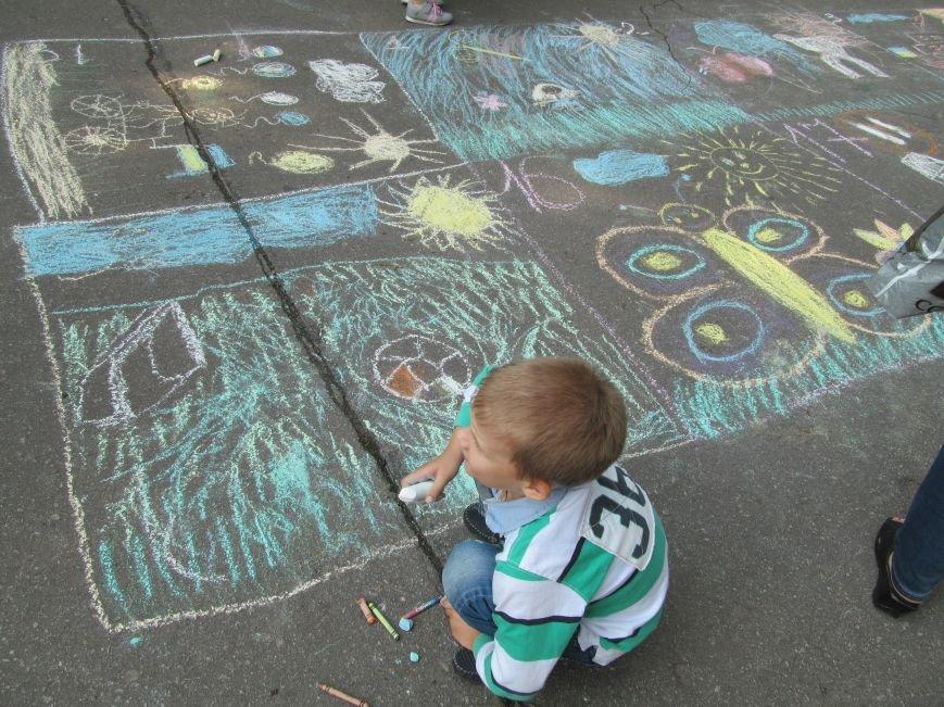Конкурс детского рисунка на асфальте в рамках акции «Нет курению» (ФОТО), фото-3