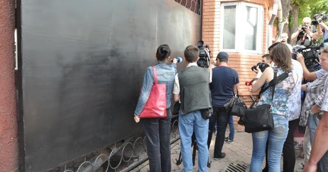 В Днепропетровске пикетировали воинскую часть с требованием вернуть срочников в место их постоянной дислокации (ФОТО), фото-2