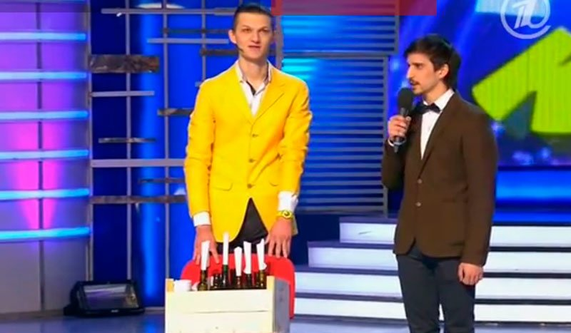 «Первый канал» показал, как белгородцы вышли в полуфинал Высшей лиги КВН, фото-1