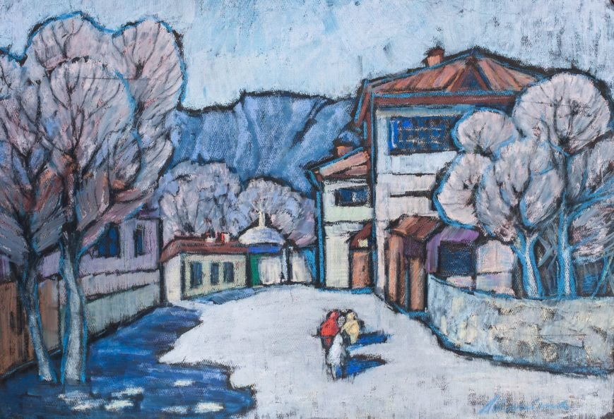 Известная ялтинская художница Анна Петровна Олейник отметила 90-летний юбилей, фото-3