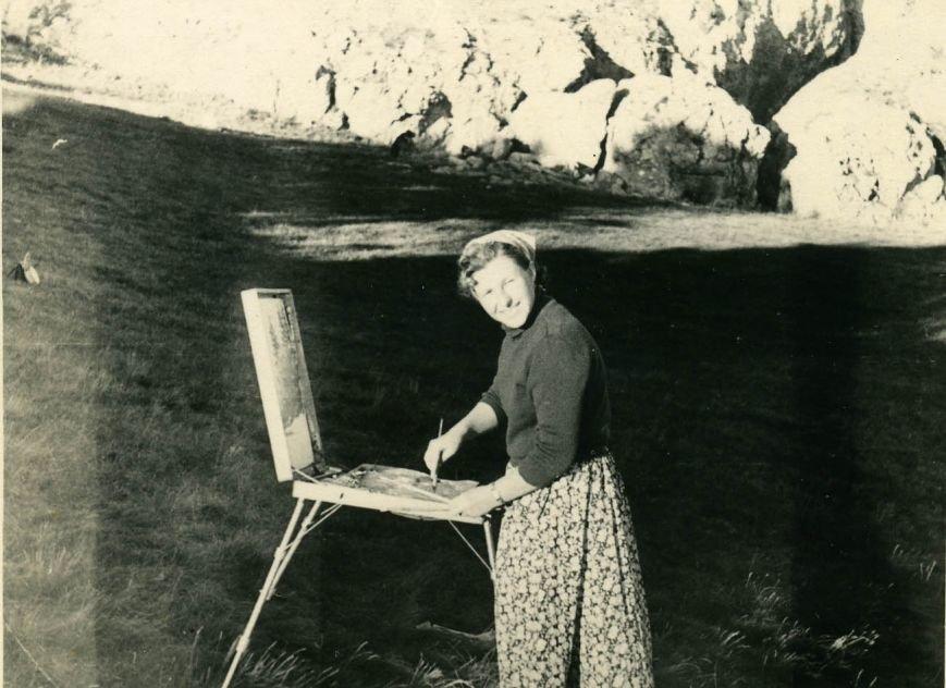 Известная ялтинская художница Анна Петровна Олейник отметила 90-летний юбилей, фото-1