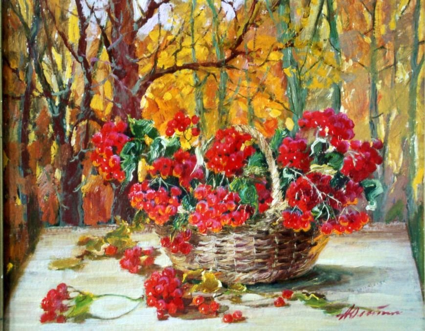 Известная ялтинская художница Анна Петровна Олейник отметила 90-летний юбилей, фото-6