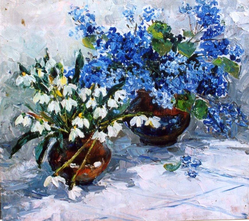 Известная ялтинская художница Анна Петровна Олейник отметила 90-летний юбилей, фото-5