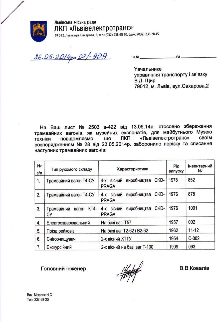 Прислухались до активістів: у Львові не будуть списувати історичні трамваї  (ФОТО), фото-1