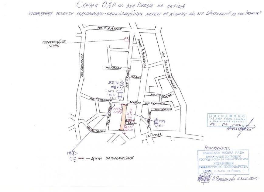 Водіям нагадали, як слід об'їжджати вулицю Куліша (схема), фото-1