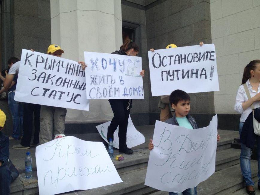 Беженцы из Донбасса под Радой требуют предоставить им статус переселенцев (ФОТОФАКТ), фото-2