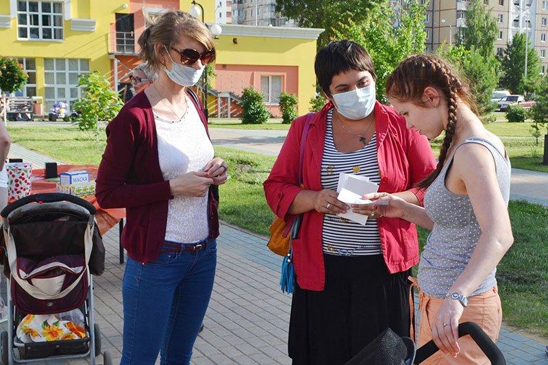 Белгородцев призвали не пугаться людей в медицинских масках, фото-1