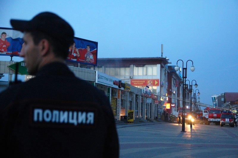 В Белгороде произошел пожар на Центральном рынке, фото-3