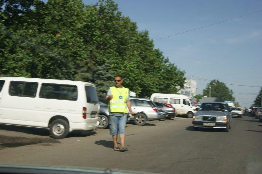 Одесский Северный рынок оккупировали парковщики (ФОТО), фото-2