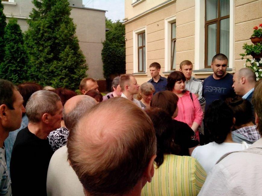 Тернопільську міську раду знову пікетували мешканці гуртожитків (фото), фото-3