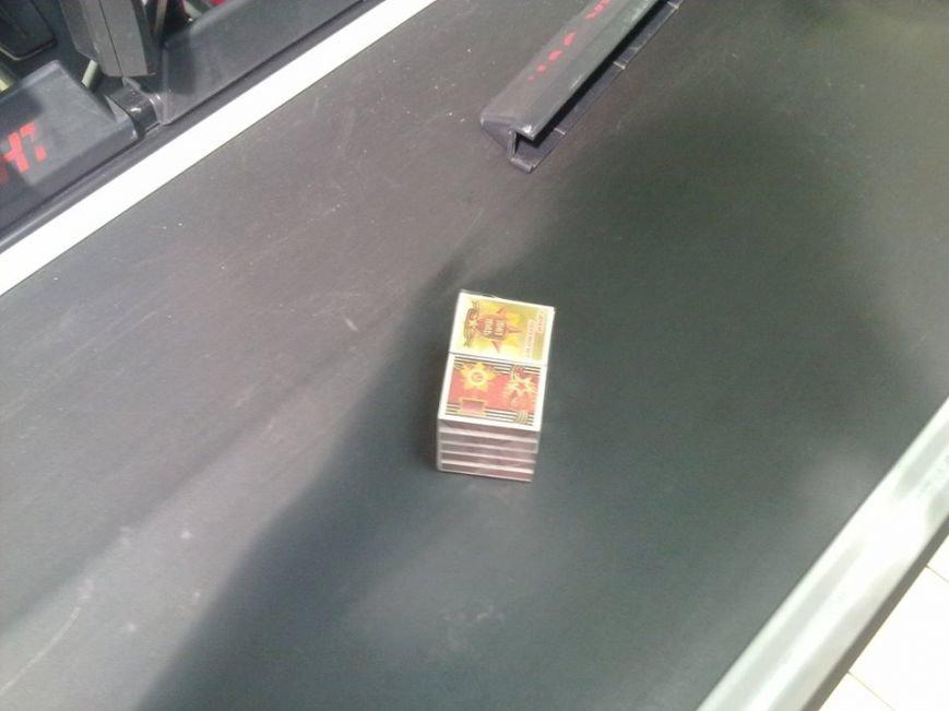 У «Арсені» продають сірники з «колорадською» стрічкою (ФОТО), фото-3