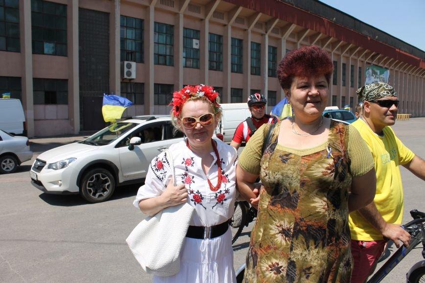 На объединенном марше активисты Кривого Рога поддержали АТО на востоке и потребовали смены городской власти (ФОТО), фото-3