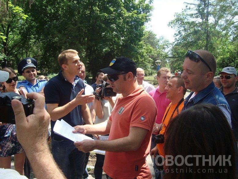 Одесский Майдан пикетировал владения Кивалова (ФОТО, ВИДЕО), фото-1