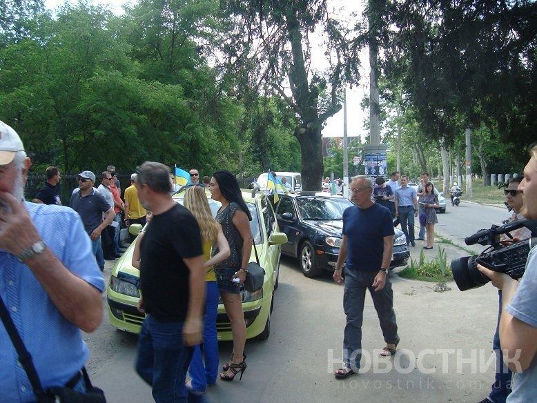 Одесский Майдан пикетировал владения Кивалова (ФОТО, ВИДЕО), фото-2