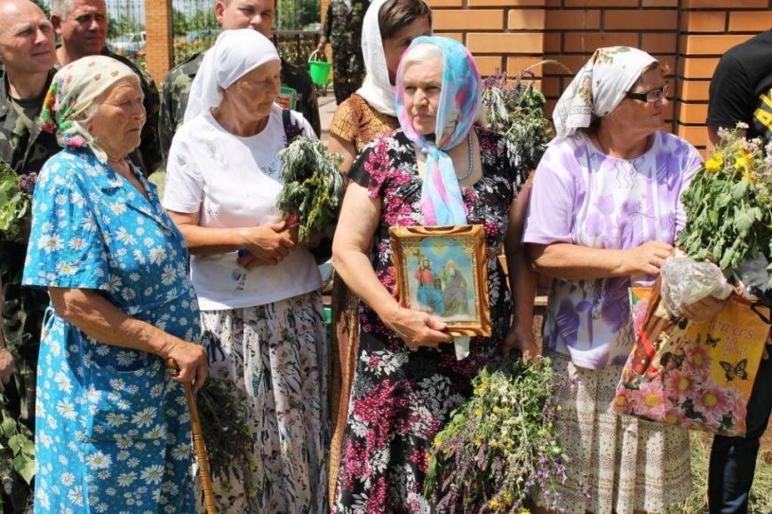 бабушки с цветами