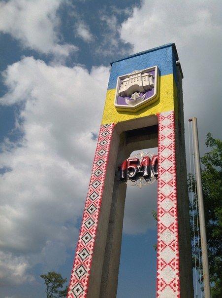 Найвища конструкція із назвою Тернополя відтепер – у «вишиванці» (фото), фото-5