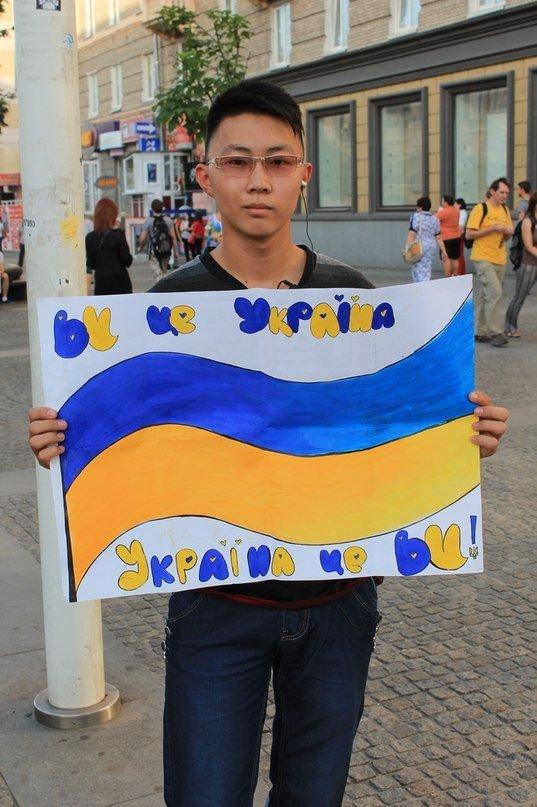 В Днепропетровске украинскую армию поддержали флешмобом (ФОТО), фото-3